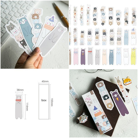 kawaii bookmarks