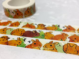 rabbits and bunnies washi masking tape