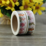 bunnies washi tape