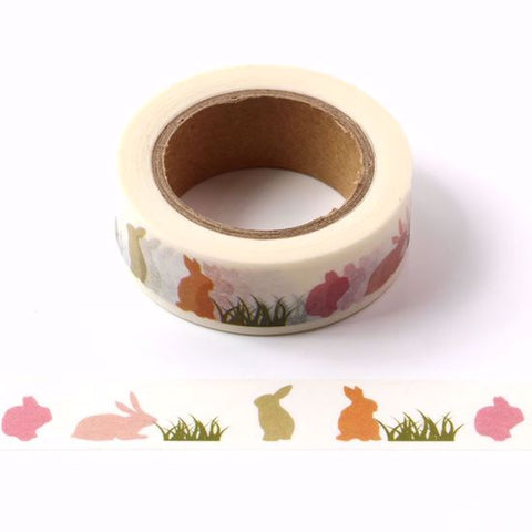 rabbit washi masking tape