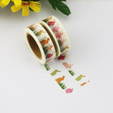rabbits washi tape