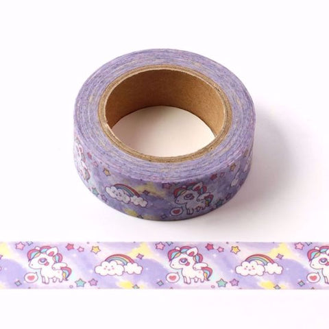 unicorns washi tape