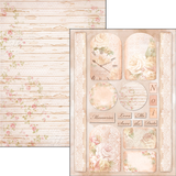Ciao Bella Romantic Time Double-Sided Creative Pad A4 190gsm ON OFFER