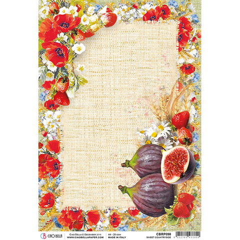 ciao bella sweet countryside rice paper