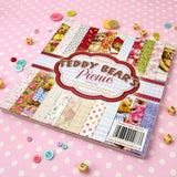 teddy bears paper pad