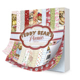 hunkydory teddy bears picture paper pad