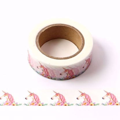unicorn craft washi tape