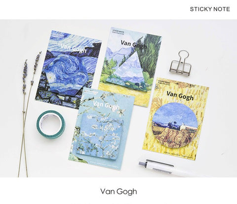 van gogh sticky notes