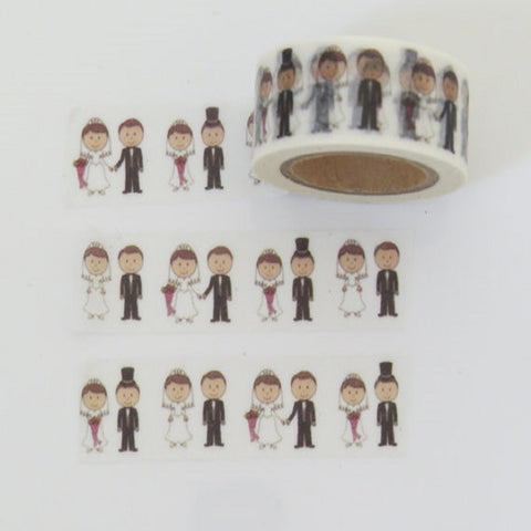 wedding washi masking decorative tape
