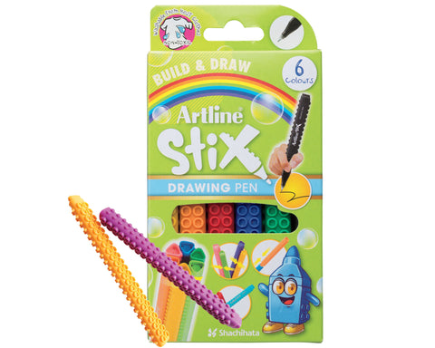 Artline Drawing Pens 6 Set