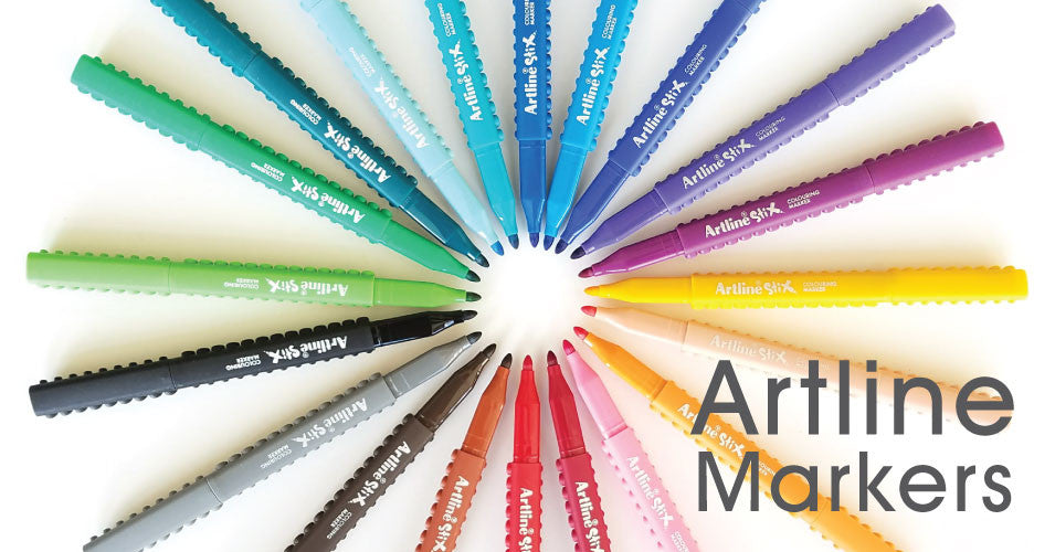 Artline Markers- Brush, Drawing, and Coloring Markers
