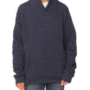 Youth Triblend Fleece Hoodie (Denim Navy) Youth Royal
