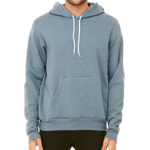 Unisex 50/50 Fleece Hoodie (Heather Slate) Sweatshirt AlphaBroder