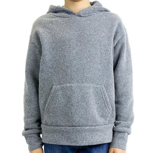 Youth Triblend Fleece Hoodie (Vintage Grey) Youth Royal