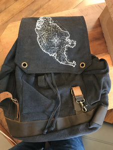 SJI - Vintage Rucksack Bag Printshop Northwest
