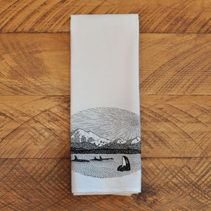 Mt. Baker - Tea Towel Towel Andrew