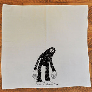 Bigfoot - Tea Towel Towel Andrew