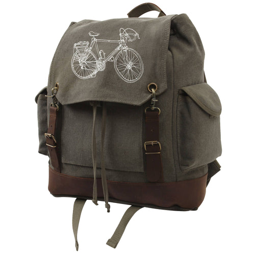 Bike - Vintage Rucksack Bag Brooke