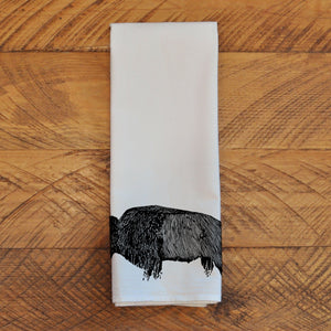 Bison Antiquus - Tea Towel Towel Andrew