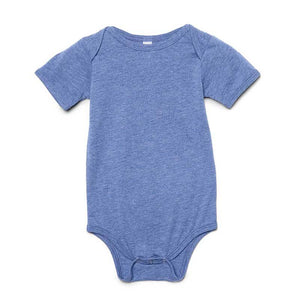 Infant Triblend Onesie (Athletic Blue) Infant AlphaBroder