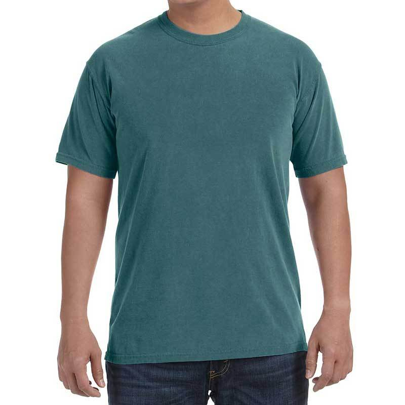 Unisex Cotton Garment Dyed T-Shirt (Spruce) Shirt AlphaBroder