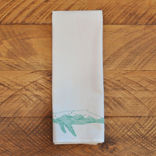 Humpback Whale - Tea Towel Towel Kate