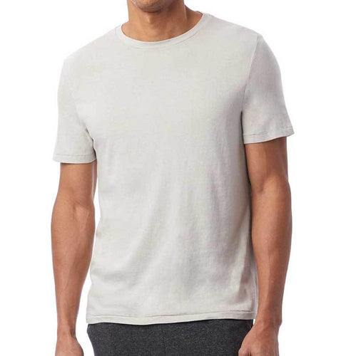 Unisex Cotton Jersey T-Shirt (Light Grey) Shirt AlphaBroder