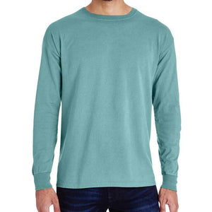 Unisex Cotton Long Sleeve (Moss) Shirt AlphaBroder