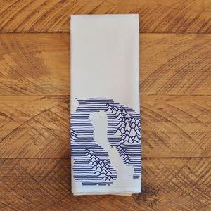 Orcas Mountains - Tea Towel Towel Andrew