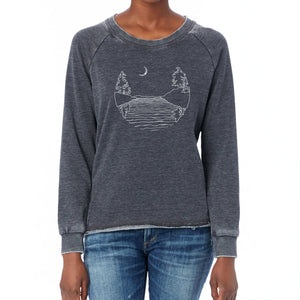 Islands at Night - French Terry Pullover Sweatshirt Sweatshirt Andrew