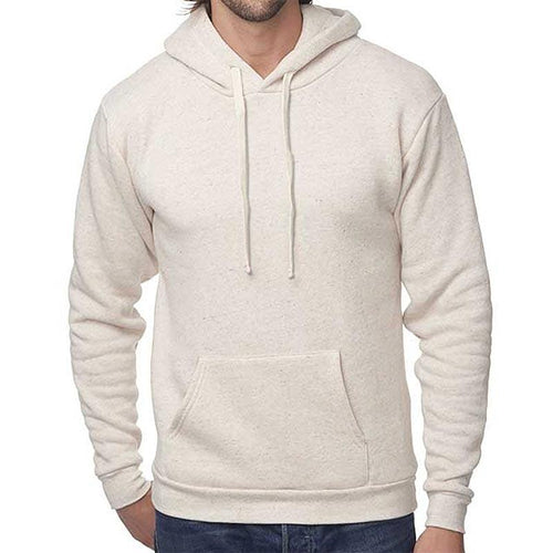 Custom printed - Unisex triblend fleece hoodie (Oatmeal) Sweatshirt Bella/Canvas