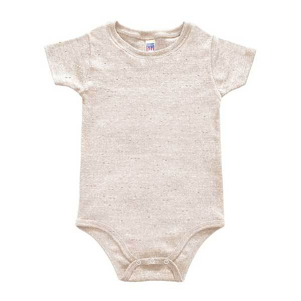 Custom printed- Infant triblend onesie (Oatmeal) Infant Andrew