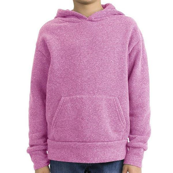 Toddler Triblend Fleece Hoodie (Purple) Shirt Alternative