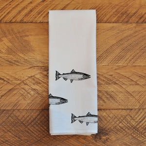 Salmon School - Tea Towel Towel Andrew