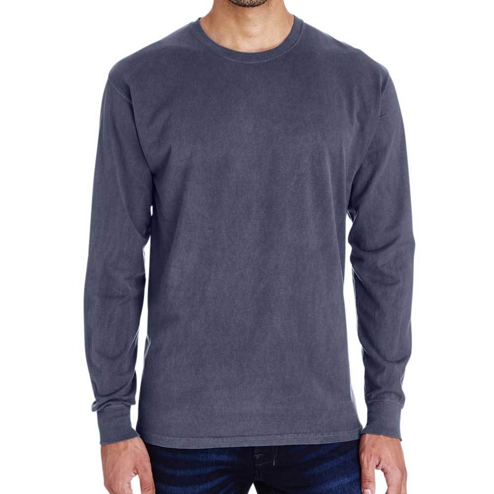 Unisex Cotton Long Sleeve (Slate) Shirt AlphaBroder