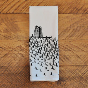 Mt. Constitution - Tea Towel Towel Andrew