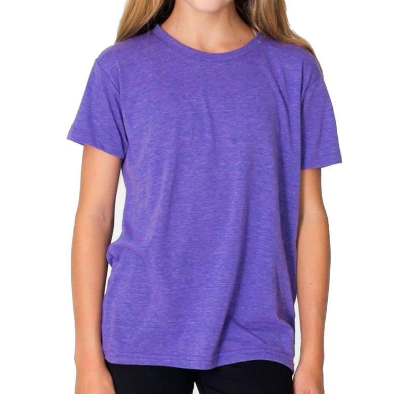 Youth Triblend Track T-Shirt (Orchid) Shirt Alternative