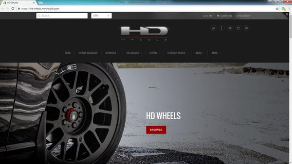 WELCOME TO THE ALL NEW HD WHEELS WEBSITE!