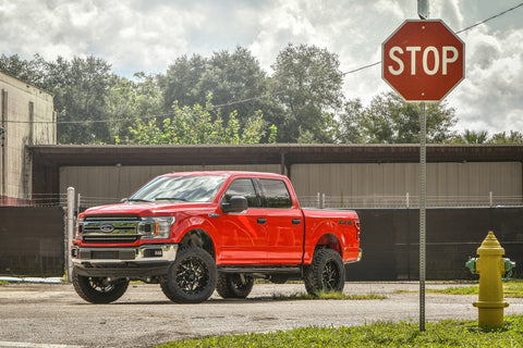 Gallery | FORD F-150 on HD Off-Road CALIBER (GLOSS BLACK Milled Face)