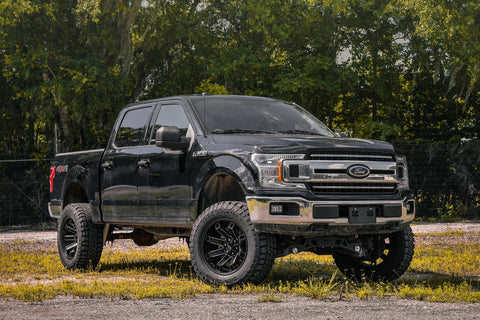 GALLERY | Ford F-150 on Satin Black Hollow-Point (Satin Black Milled)