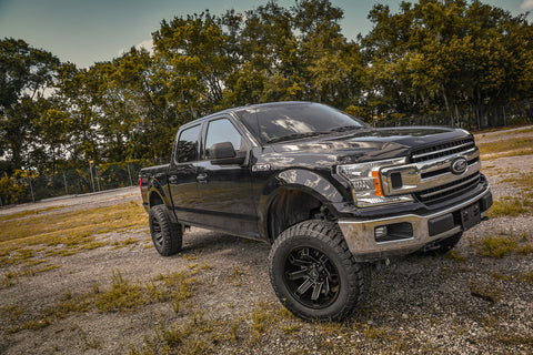 Gallery | FORD F-150 on Remington Hollow-Point 20x10 (Satin Black Milled Edge)