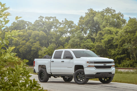 GALLERY | CHEVROLET SILVERADO on HD OFF-ROAD 8-POINT (GLOSS BLACK MILLED EDGE)