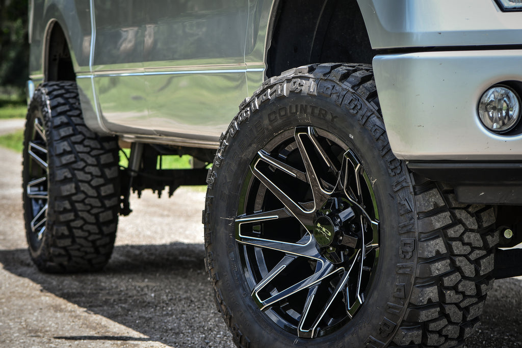 HD Off-Road Wheels Canyon with Dick Cepek Extreme Country M/T Tires
