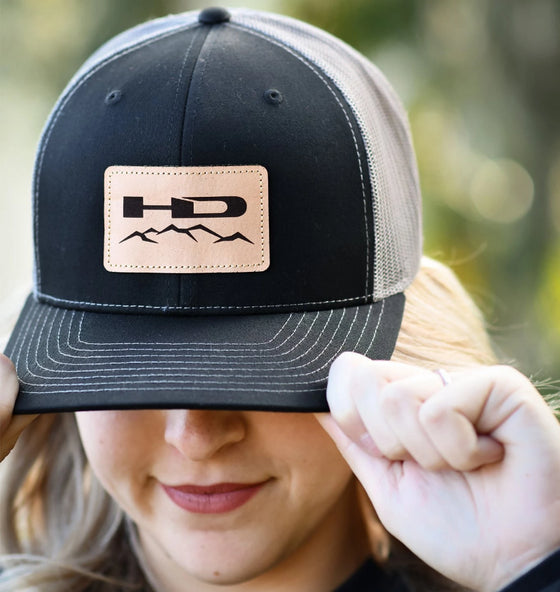 HD Off-Road Wheels HD Off-Road Wheels Apparel Official HD Off-Road Wheels Snap-Back Hat - Black & Charcoal