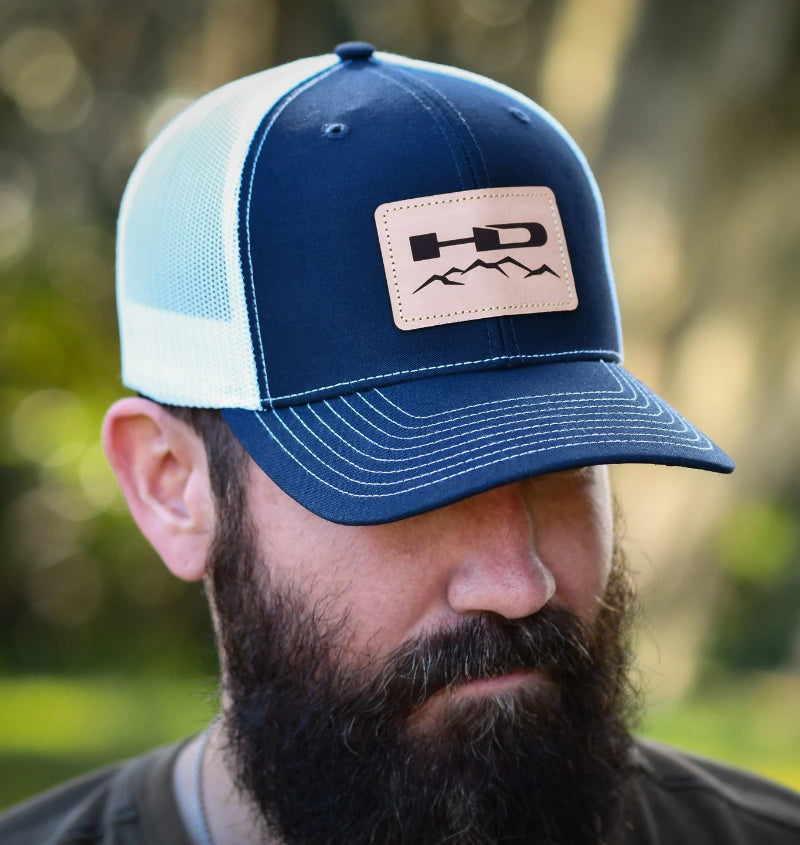 HD Off-Road Wheels HD Off-Road Wheels Apparel Official HD Off-Road Wheels Snap-Back Hat - Navy & White