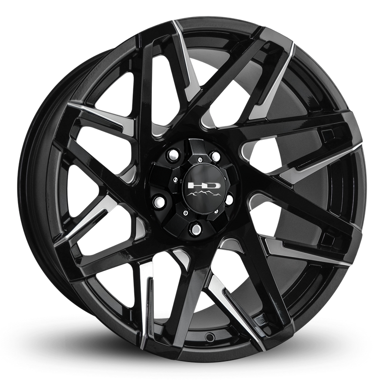 "HD Off-Road Wheels Truck & SUV Wheels 20x10.0 | 5x127/5x139.7 | et-25mm | 4.53 in | 78.1mm HD Off-Road Canyon ""Battle Edition"" Wheels 