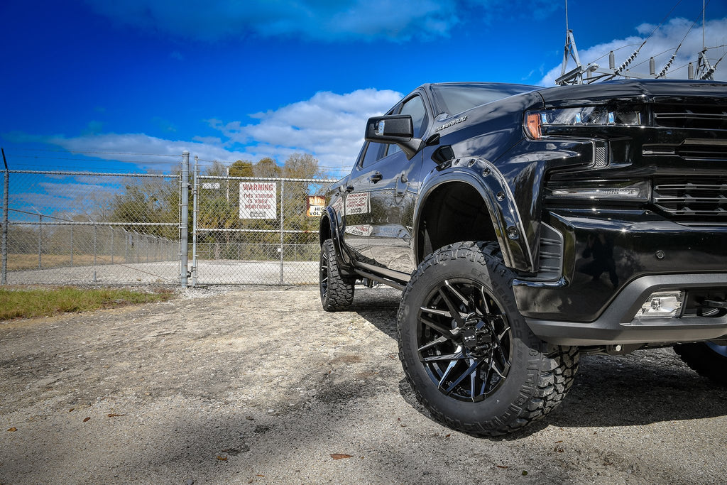 HD Off-Road Wheels Truck & SUV Wheels HD Off-Road Caliber | Gloss Black Milled Face