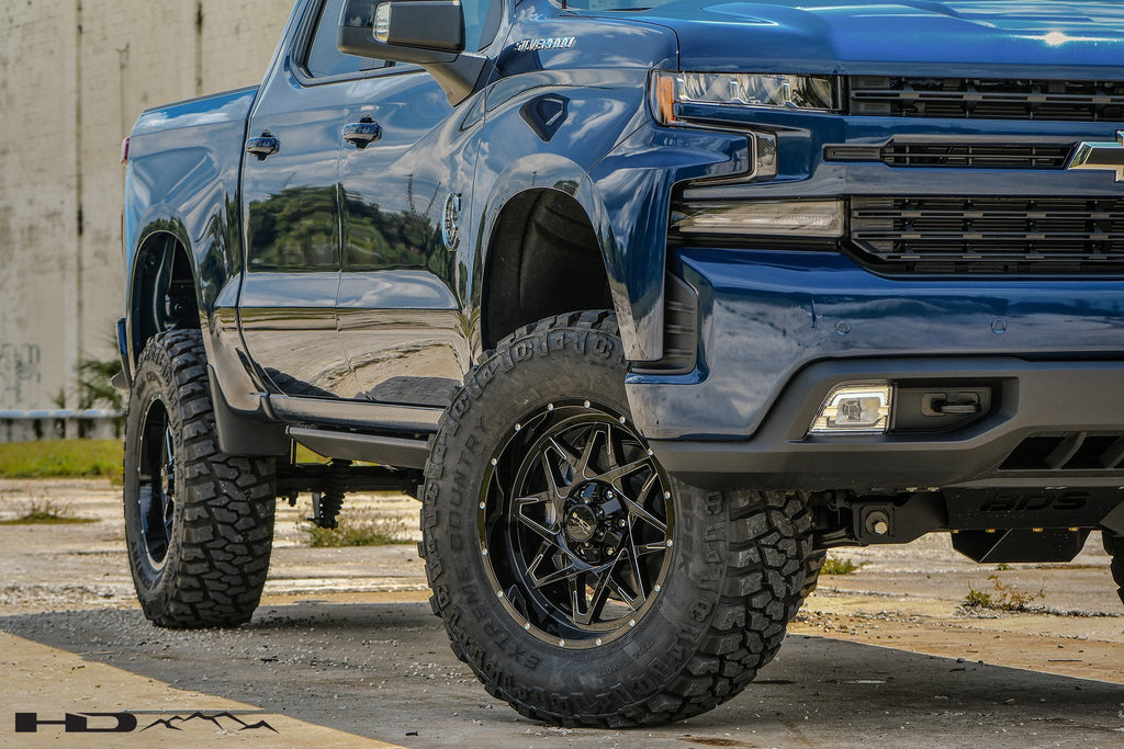HD Off-Road Wheels Truck & SUV Wheels HD Off-Road Caliber Wheels | Gloss Black w Milled Spoke Edge