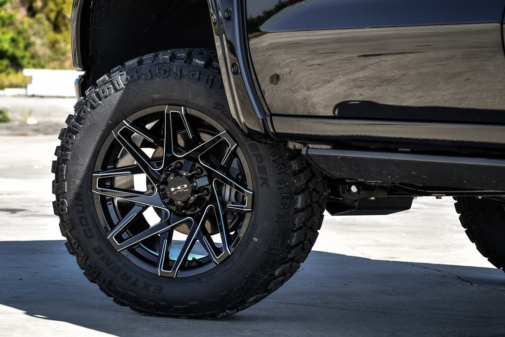 HD Off-Road Wheels Truck & SUV Wheels HD Off-Road Canyon | Gloss Black Milled Edges