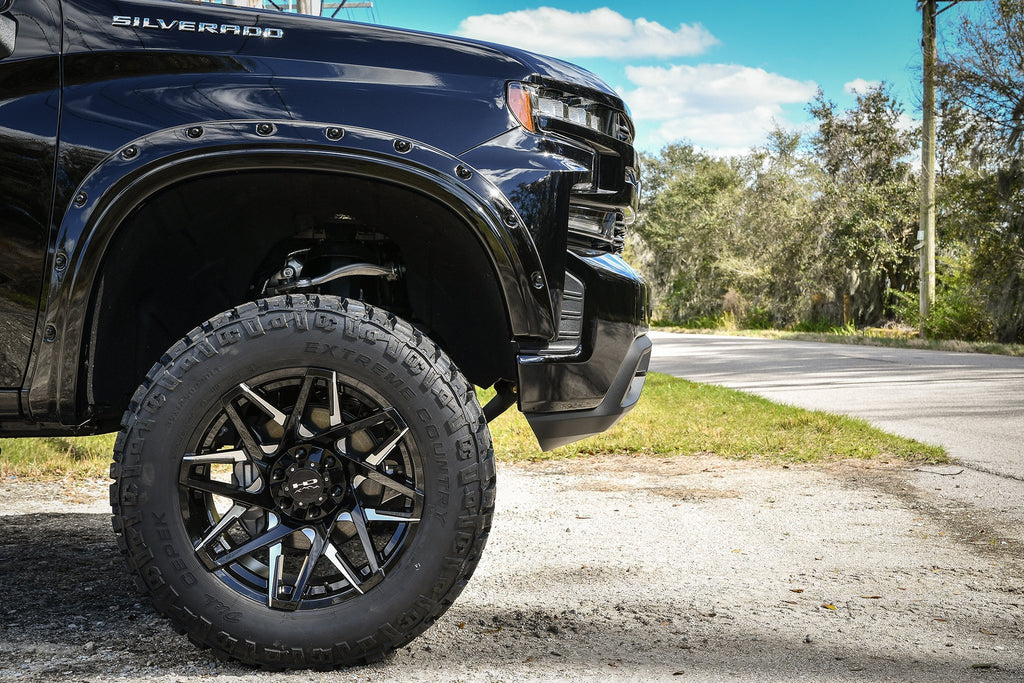 HD Off-Road Wheels Truck & SUV Wheels HD Off-Road Canyon | Gloss Black Milled Face